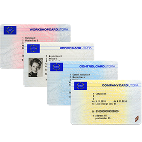 Image of Tachograph Cards